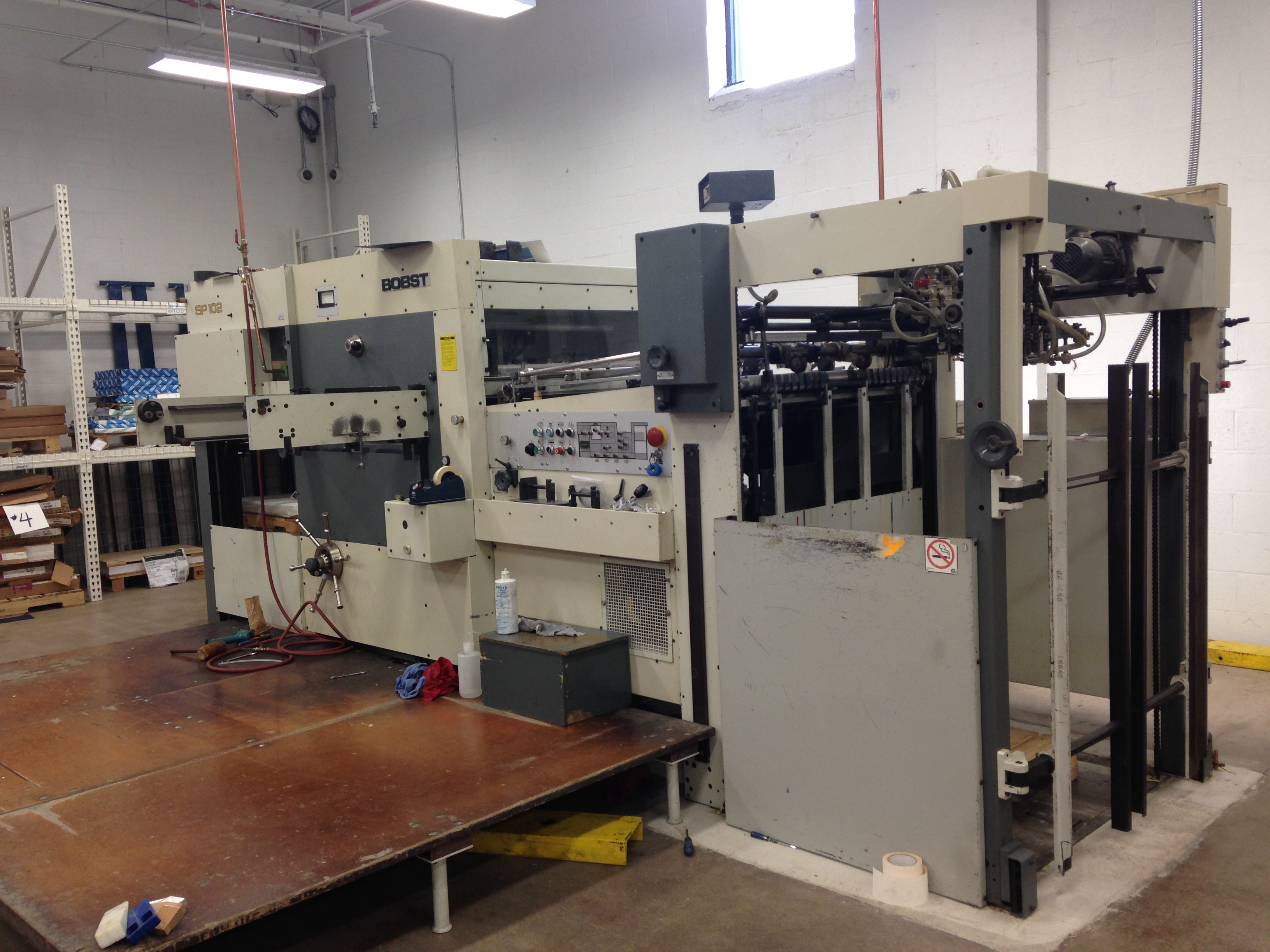 New Addition - Large Format Die cutter - Cannelli Printing Company ...