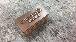Copper Letterpress Die
