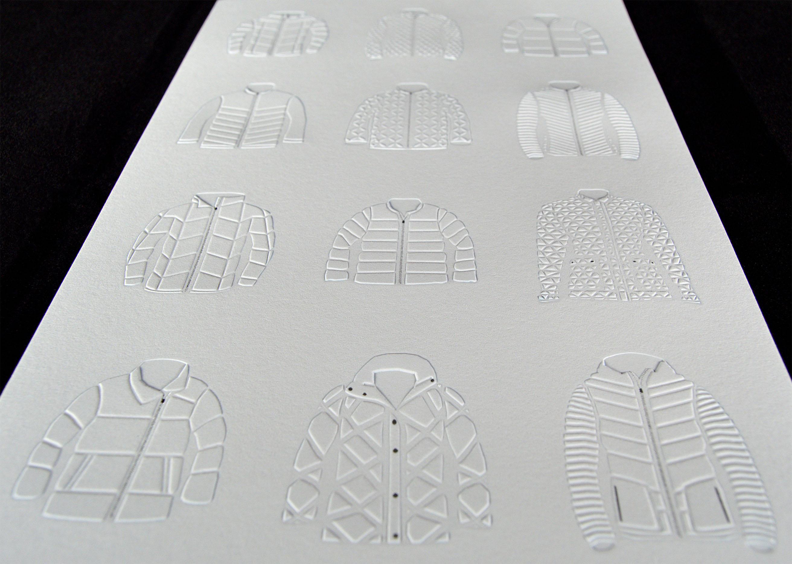 emboss and deboss printing